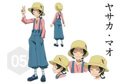 The anime character Mao Yasaka is a teen with to ears length green hair and yellow eyes. Gundam Build Fighters, Yellow Eyes, Mobile Suit, Anime Characters, Fictional Characters, Digimon, Teen, Fantasy Characters, Cartoon Characters