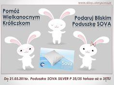 Pomagamy Zajączkowi Wielkanocnemu. Dołącz do nas na www.sklep.alergsova.pl. Czekamy na Ciebie! #zajączek #wiosna #alergia #astma #roztocza #atopowe #promocja