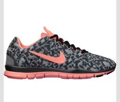 Cute pink leopard printed Nikes