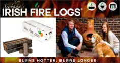 With St. Patrick's Day less than four weeks away, Siobhan's Irish Fire Logs are an ideal way to celebrate the day when everyone's Irish.