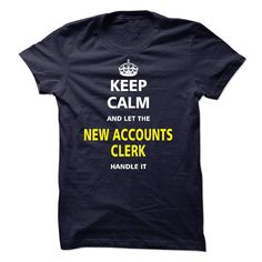 Let the NEW ACCOUNTS CLERK T-Shirts, Hoodies. VIEW DETAIL ==► https://www.sunfrog.com/LifeStyle/Let-the-NEW-ACCOUNTS-CLERK-21935931-Guys.html?id=41382