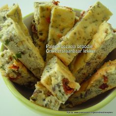 Paleo Foccacia bread (Dutch only)