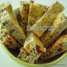 Paleo Foccacia bread (Dutch only)
