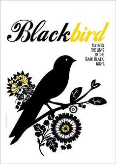 blackbird art - Google Search
