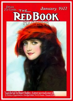 Red Book Cover January 1922