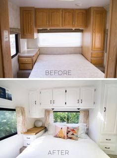 caravan renovation before and after 696932111072319318 - rv remodel before and after motorhome Interior Motorhome, Rv Interior Remodel, Exterior Remodel, Airstream Motorhome, Rv Kitchen Remodel, Vintage Camper Interior, Vintage Campers, Vintage Trailers, Rv Redo