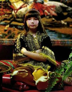 young Björk...unique at that young age...