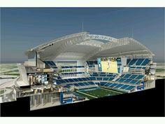 Dallas cowboys stadium cross section