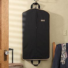 Create a professional executive gift with the Elite Travel Personalized Garment Bag. Find the best personalized office gifts at PersonalizationMall.com