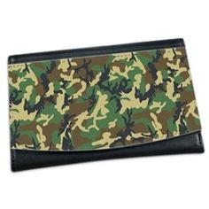 military camouflage Mini Wallet
