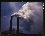 Africa's worst drought blamed on West's Pollution.  Sulfate-laden aerosols coming out of a U.S. smokestack in 1942.