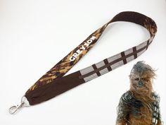 Chewbacca Wookiee Personalized Lanyard for pin trading, ID, KTTW or key holder Disney Trading Pins, Disney Pins, Disney Lanyard, Dapper Day, Chewbacca, Disney Cruise, Starwars, Disneyland, Key