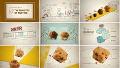Little Bites by Lisa Mishima, via Behance  click through to see video