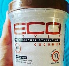 Coconut eco styling gel ☪|| IG. @Spotlesss.mind //• Pinterest @bbygirl212 ✨