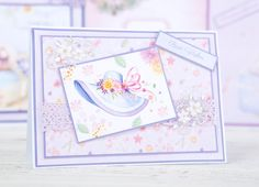 Inject Summer into your cards with the Victoria Nelson Summertime Bliss Collection. / cardmaking / papercraft / craft / scrapbooking
