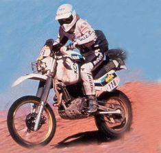 Suzuki-side of the rally Tenere page