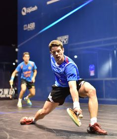 In order to open up the racket face you need to adjust your wrist position rather than your grip. From a neutral position you're able open to make small adjustment to your wrist position and have a significant affect upon the angle of the racket face. #SquashSkills #psa #psaworldtour #Salming #squash #backhand
