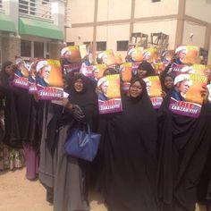 "PICTURES: Muslim women stage ""Free El-Zakzaky"" protest in Kaduna - http://www.77evenbusiness.com/pictures-muslim-women-stage-free-el-zakzaky-protest-in-kaduna/"