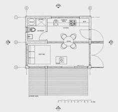 Mi Casa en un Container o Contenedor Maritimo: otros planos y diseños Shipping Container House Plans, Shipping Containers, Underground Homes, Tiny House Design, Floor Plans, Layout, How To Plan, Ideas, Box