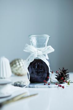 Mulled Wine with Liquorice - Great way to keep warm over the Holidays