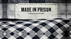 Moda feita na prisão - Conheça as marcas de moda que trabalham com presidiários - Stylo Urbano #moda #estilo