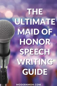 How to Write a Killer Maid of Honor Speech: The Ultimate Guide Maid Of Honor Speech, How We Met, Fancy Words, Best Friend Wedding, People Laughing, Great Friends, Happily Ever After, Told You So, Writing Guide