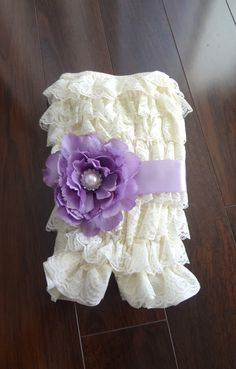 Perfect little romper for a girl!
