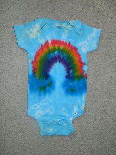 18 month Tie Dye Rainbow Onesie $10 from Sammy's Stash!