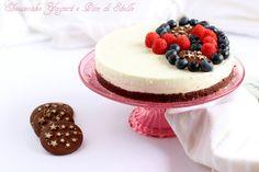 Cheesecake con Pan di Stelle e yogurt greco