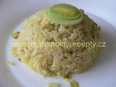 Pórková kari rýže Side Dishes, Grains, Food, Eten, Seeds, Meals, Side Dish, Korn, Appetizers