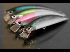 How to make a balsa fishing lure by hand. Part 1 of 7