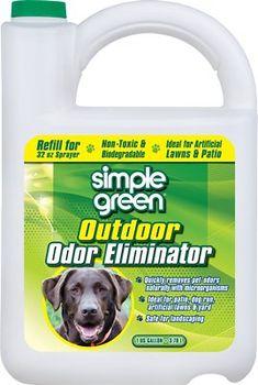 8e4064454 Simple Green Outdoor Dog & Cat Odor Eliminator, 1-gal jug - Chewy.com