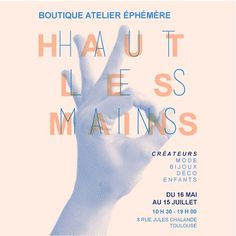 Haut Les Mains, collectif de créateurs autour de Toulouse, France. French handcraft in Toulouse. #handcraft #hautlesmains #toulouse