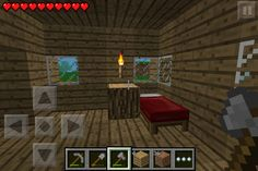 Gameplay Day #4-2 Hey, videogamer TechWhiz here with a new room! This is the bedroom if you and your friend have Minecraft you can put two beds. I also have the nightstand with the torch. You can spice up the room. Of course you need the bed and a light. I don't really have anything about this room so goodbye, and be a TechWizard by following me! TechWhiz out!!