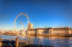 London Eye on a Sunny Day in Winter | England - #Sumfinity HDR Photography