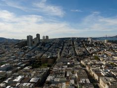 View from Coit Tower, Lombard Street, San Francisco, CA, USA (Dec 2011)