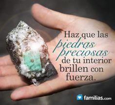 Tú eres valiosa como un diamante. Estos consejos te ayudarán a pulir todo tu valor