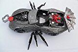 #3: 1997 Spider-Man Silver Spider car by Marvel Toy Biz