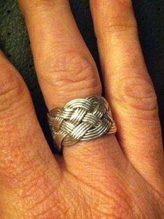 Turk's Head Knot Ring
