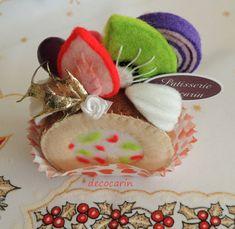 Felt Cake, Felt Food, Felt Home Party Decor Table Decoration Ornament, Birthday Gift, Felt Decor, Collectibles