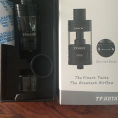 Smok TFRDTA in stock now black and silver both are available