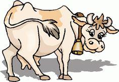 Baby Farm Animal Clip Art | cow_21 clipart - cow_21 clip art