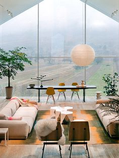 A great view...only missing water or animal feature. Love the sheepskin throw...