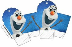 Need to print soon. Guess who wants a Frozen birthday party in Africa! Frozen Birthday Party, Olaf Party, Sleepover Birthday Parties, Frozen Disney, Olaf Frozen, Diy Party Boxes, Party In A Box, Party Bags, Party Favors