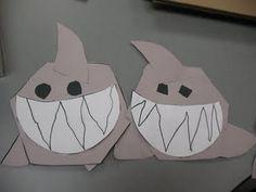 Sharks...zigzags.