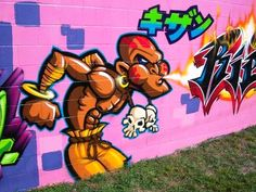 Free Download Dhalsim Graffiti Cartoon Characters Fire HD ...