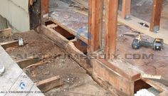 How I Replaced A Rotted Rim Joist And Sill Plates Part 1 Of 4