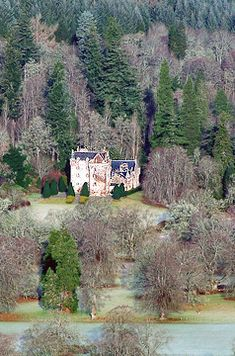 Castle Leod - the Seat of Clan Mackenzie. Situated near to the delightful Victorian spa village of Strathpeffer in Easter Ross, Scotland, Castle Leod is surely one of the most beautiful, romantic and unspoilt castles in the Highlands.