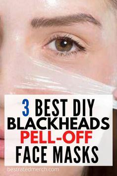 Diy Peel Off Face Mask, Blackhead Peel Off Mask, Pimple Mask, Face Mask For Blackheads, Get Rid Of Blackheads, Pimples, Best Peel Off Mask, Blackhead Remover, Cool Diy