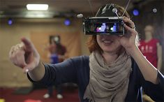 Microsoft Researchers Test Multi-Person Mixed Reality | MIT Technology Review